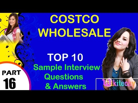 Costco Wholesale most important interview questions and answers for freshers
