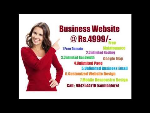 professional website design and website development company based in Coimbatore