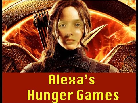 Hunger games by Alexa (funny video)😉