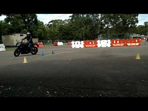 NSW Motorcycle Test