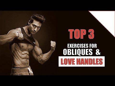 Top 3 Exercises to Develop Obliques & Burn Love Handles Fat | Guru Mann's Pick