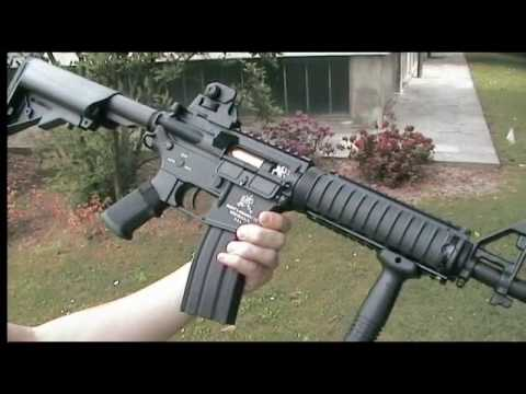 Dboys M4 FULL METAL CQB-R BI3981 - Prova REVIEW e Recensione Softair ITA