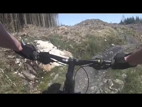 Kirroughtree (7 Stanes), Scotland. Red Route MTB