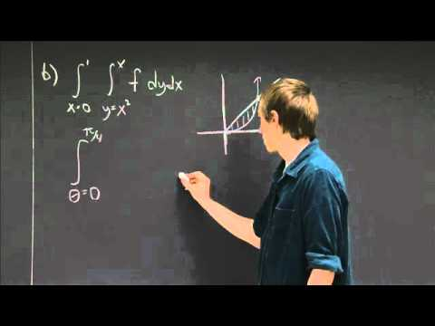 Integration in polar coordinates | MIT 18.02SC Multivariable Calculus, Fall 2010