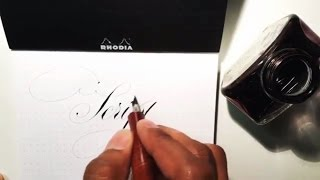 Super Satisfying Calligraphy compilation by Paul Antonio