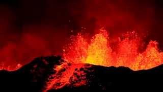 Holuhraun / Bardarbunga Eruption - The Largest Lava Eruption in the World of 2014 - Iceland