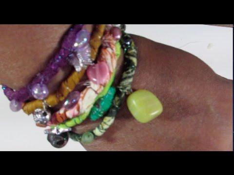 Boho Wrap Beaded Bracelets
