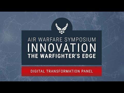 2018 Air Warfare Symposium - Digital Transformation Panel