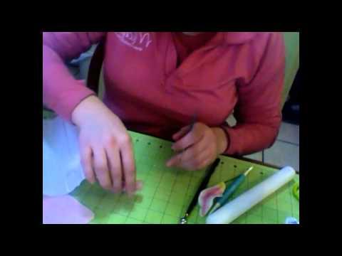 How to make a gumpaste stargazer lily