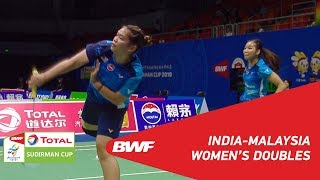 G1 | WD | PONNAPPA/SIKKI (IND) vs CHOW/LEE (MAS) | BWF 2019