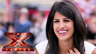 TOWIE's Jasmin Walia auditions for the Judges - The Xtra Factor 2014