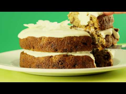 How to make CARROT AND COURGETTE CAKE recipe