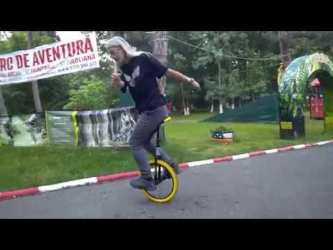 QU-AX Twin-Uni II / Unicycle Swing Bike