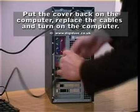 Installing a PCI WiFi card in a desktop computer