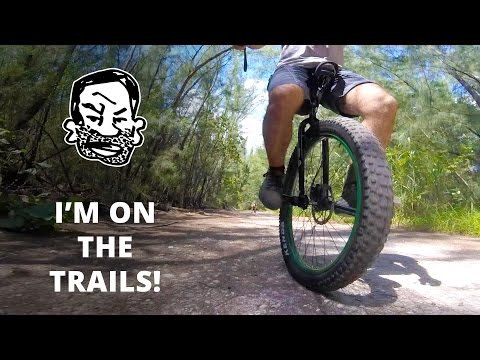 First Time on the MTB Trails - Learning to Unicycle EP6
