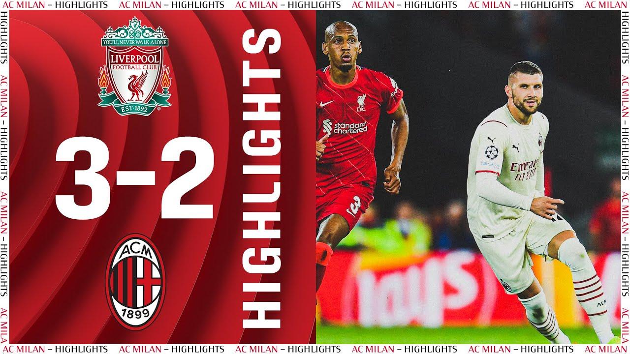 Rebić & Díaz score in Anfield defeat | Liverpool 3-2 AC Milan | Highlights Champions League