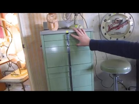 Look What I Found Online Auction Preview-1950's Dentist Cabinet