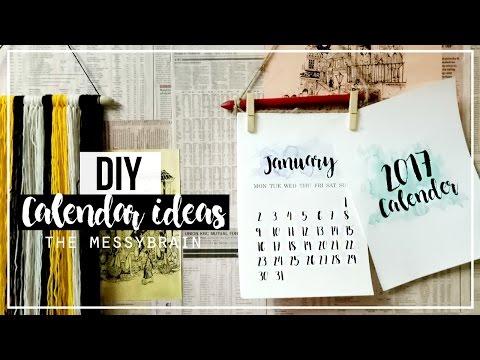DIY  MINIMAL WALL CALENDAR | Debasmita Mukherjee
