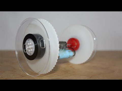 How to Make Double Shaft Motor Car
