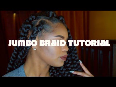 Jumbo Box Braid Tutorial | Dedicated2Tish