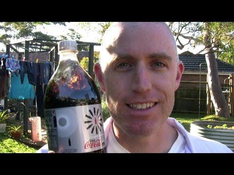 Mentos and Diet Coke Experiment - Retro School Holiday Fun