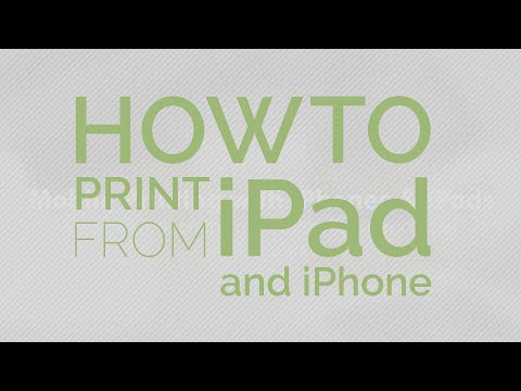 How to print from iPad to any printer