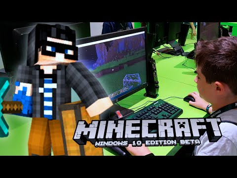 MINECRAFT WINDOWS 10: LE TEST !