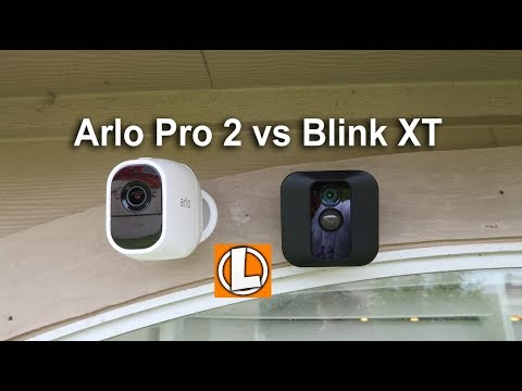 Blink XT vs Arlo Pro 2 WiFi Wireless Security Cameras - Comparison on Pricing, Features, Footage