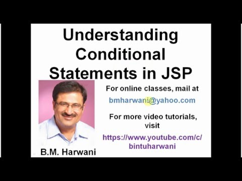 Understanding Conditional Statements In JSP, Java Server Pages (In Hindi)