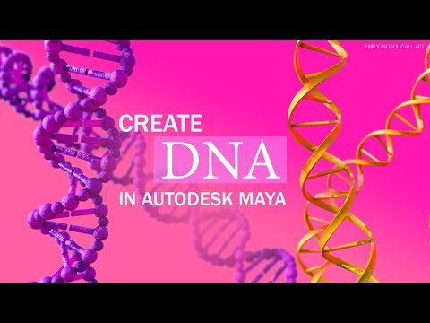 Medical Animation Tutorial: How to Create DNA in Autodesk Maya Part One