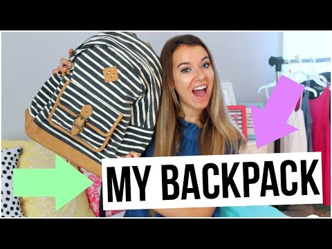 What's In My Backpack?!: Travel Edition!