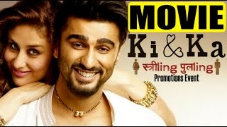 Ki & Ka Movie 2016 | Hindi | Kareena Kapoor Khan | Arjun Kapoor | R Balki | Movie Promotion Event