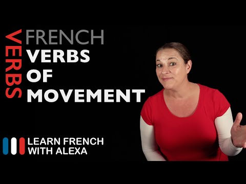 French Verbs of Movement (Learn French With Alexa)
