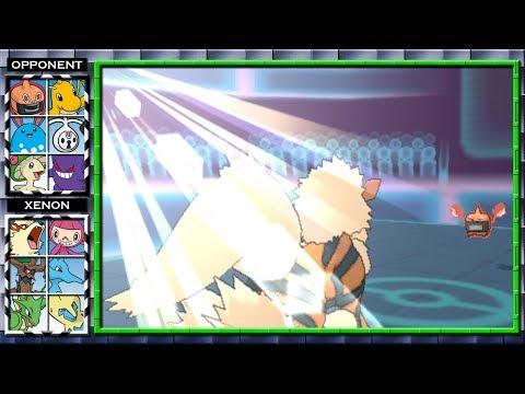 Arcanine Summons The Morning Sun! Pokemon X and Y Wifi Battle #14 Xenon3120 vs Padeli