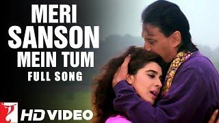 Meri Sanson Mein Tum | Full Song | Aaina | Jackie Shroff, Amrita Singh | Kumar Sanu, Asha Bhosle