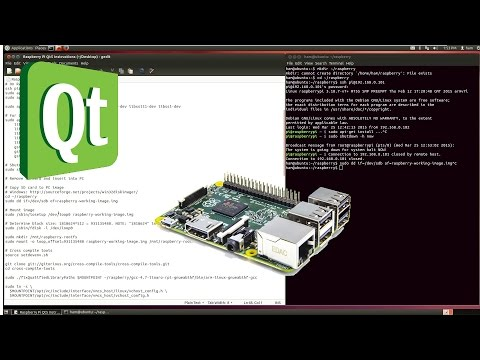 Howto compile Qt 5.4 or newer for Raspberry Pi (Step-by-Step tutorial)