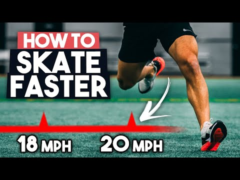 Hockey Speed Workout ⚡️ Skate Faster ⚡️