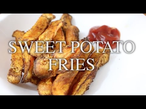 OVEN BAKED SWEET POTATO FRIES | NuWave Oven