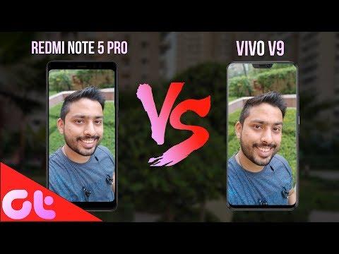 Vivo V9 vs Redmi Note 5 Pro Camera Comparison: Shocking Results 😯