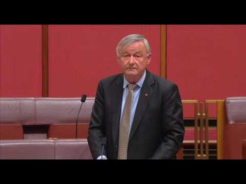 Senator Gallacher speaking on Defence's Management of Credit and other Transaction Cards
