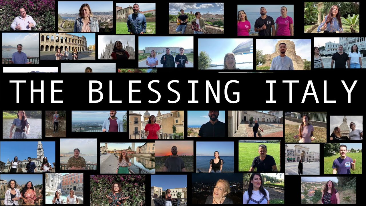 The Blessing Italy - La Benedizione (Cover)