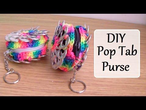 How To Make A Mini Pop Tab Coin Purse - Pt 3