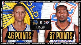February 27, 2016: Golden State Warriors @ Oklahoma City Thunder #NBATogetherLive