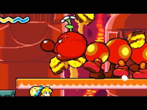 Super Princess Peach - Walkthrough Part 12 - World 4 Fury Volcano 4-7,4-8 & 4-9
