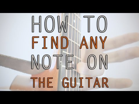 How to Find Any Note on the Guitar