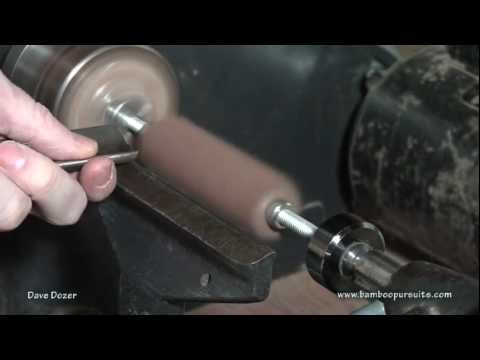 Making Bamboo Fly Rod Reel Seats.mpg
