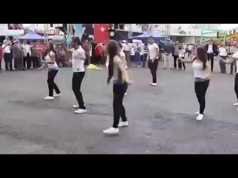 Turkish garba (dance) on Gujarati song Leri Lala (લેરી લાલા) by Kinjal Dave