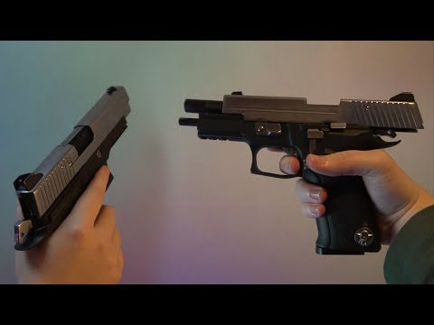 Slow Motion Gas Blowback Airsoft Pistol ~ Firing & Reloading ~ Sony A6300 Slow Motion Test