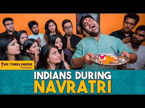 Indians During Navratri | The Timeliners