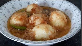 Download Dimer Korma Bangla Recipes | Egg Kurma Easy Recipe Bangladeshi Style Video
